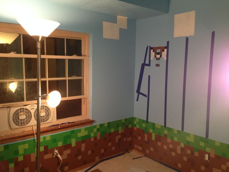 minecraft bedroom decorating ideas google search - Diy Entfernbarer Backsplash
