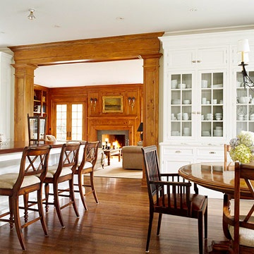 165 Best Rooms With Wood Stained Trim Images On Pinterest Classy Dining Room Wall Trim Design Ideas