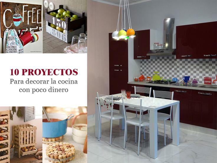 10 proyectos para decorar la cocina con poco dinero
