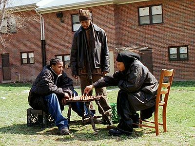 "My favourite scene ever in The Wire - ""The king, stay the king"" - ""Unless he some smart ass pawn""......."