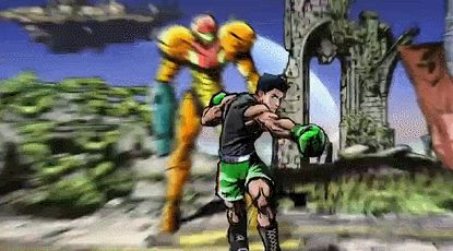 Little Mac Announced for Smash Bros. via Reddit user bababuffdip #GIF