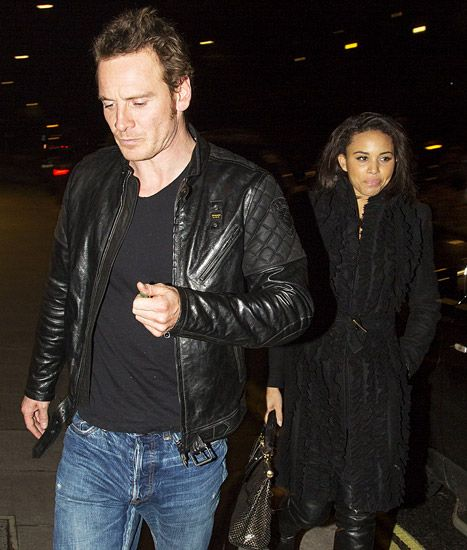 Michael Fassbender is dating an Olympian!