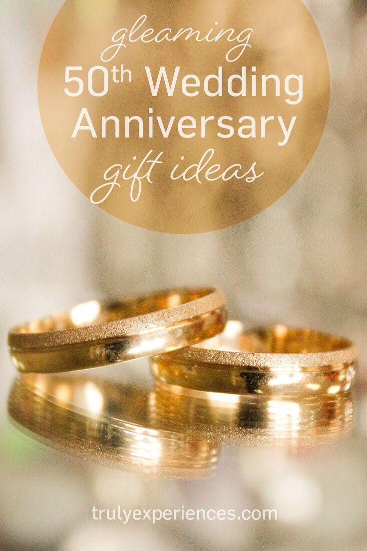 Stay Golden Gleaming 50th Wedding Anniversary Gift Ideas 50