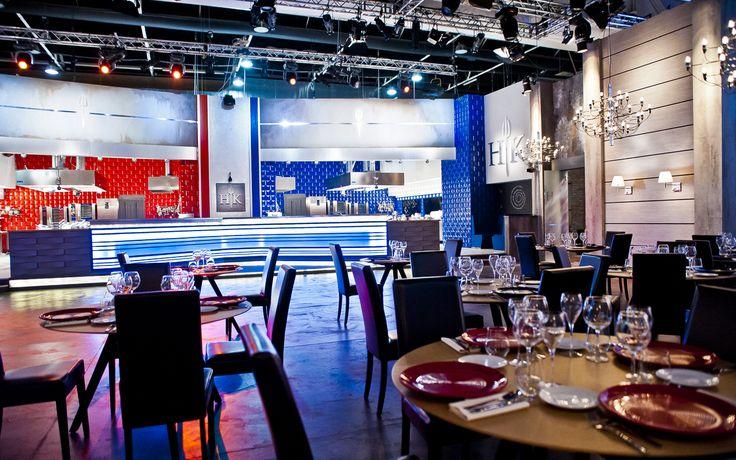 Hell's Kitchen Italia, tavoli Katana by Potocco Spa