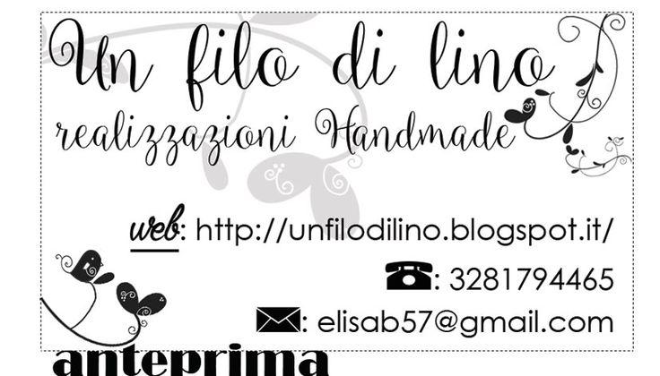 """Business Card (Biglietto da visita) per """"Un filo di lino"""" http://graficscribbles.blogspot.it/2015/12/business-card-biglietto-da-visita-per.html #bisinnesscard"""