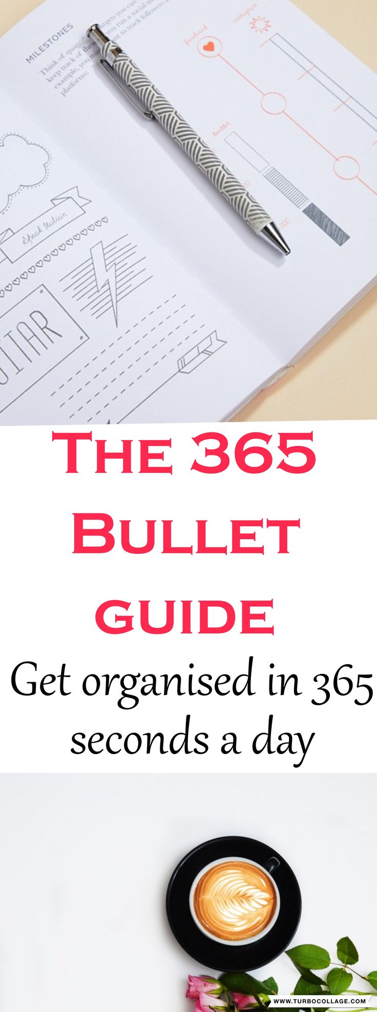 Take 365 seconds or less a day to learn the bullet system activities and get organized in one year. The 365 bullet guide contains ideas and techniques for habit trackers, sleep logs and handwriting exercises. #bulletjournal #bulletjournaling #bujo #bujojunkies #bulletjournaljunkies #afflink