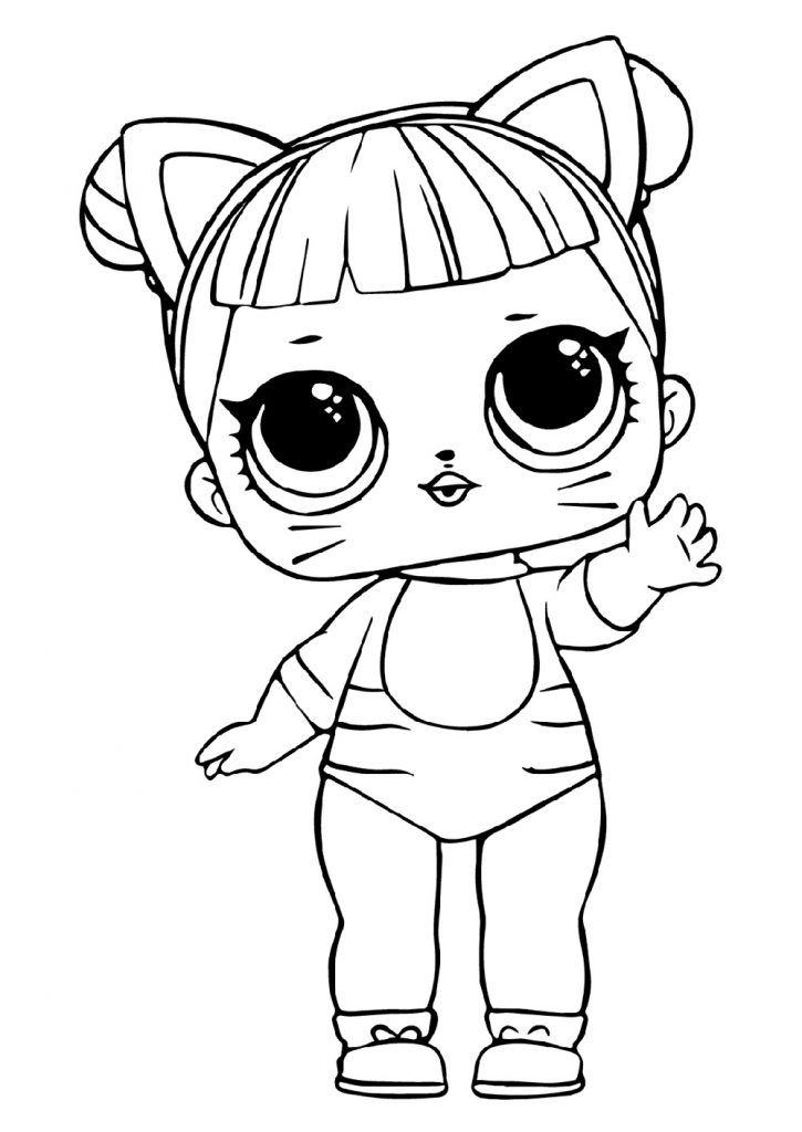 The Best Printable Lol Coloring Pages Coloring Pages For Kids Cute Coloring Pages Lol Dolls
