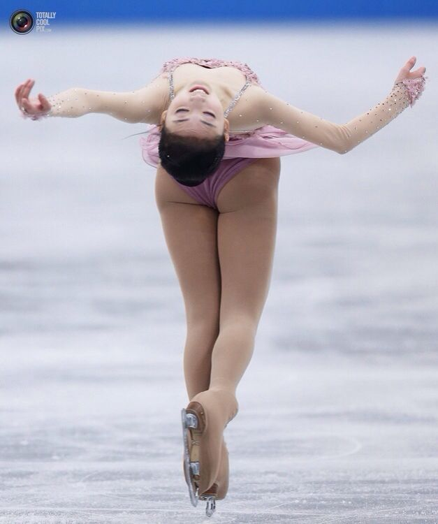 Naked women of figure skating