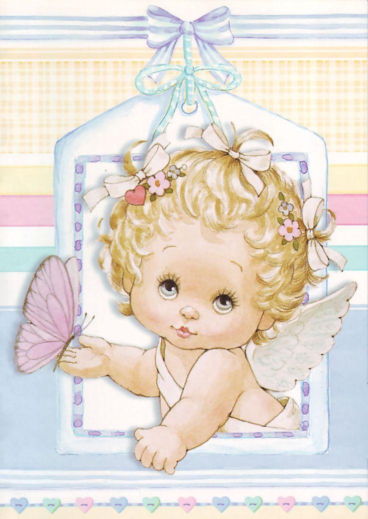 Ангел для малыша открытки, открыток добрым утром