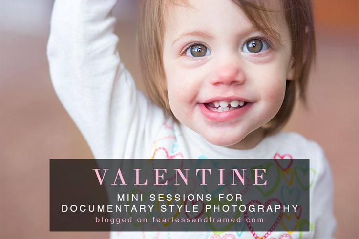 Valentine's Mini Sessions for Documentary Photographers