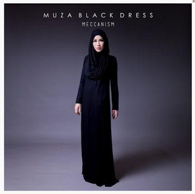 Contoh Model Baju Muslim Ala Zaskia Adya Mecca
