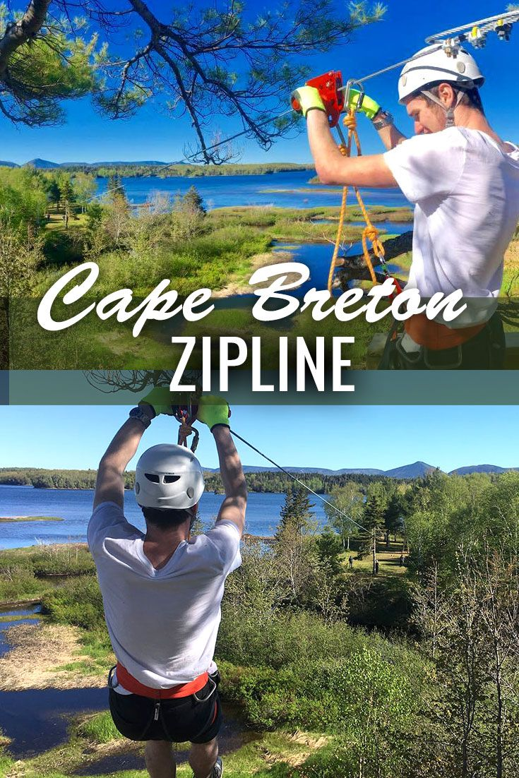 Looking for some adventure on Cape Breton Island look no further! Be sure to stop by for a zip along the Cabot Trail at Mountain Pine Adventures, the only ziplining spot on the island.