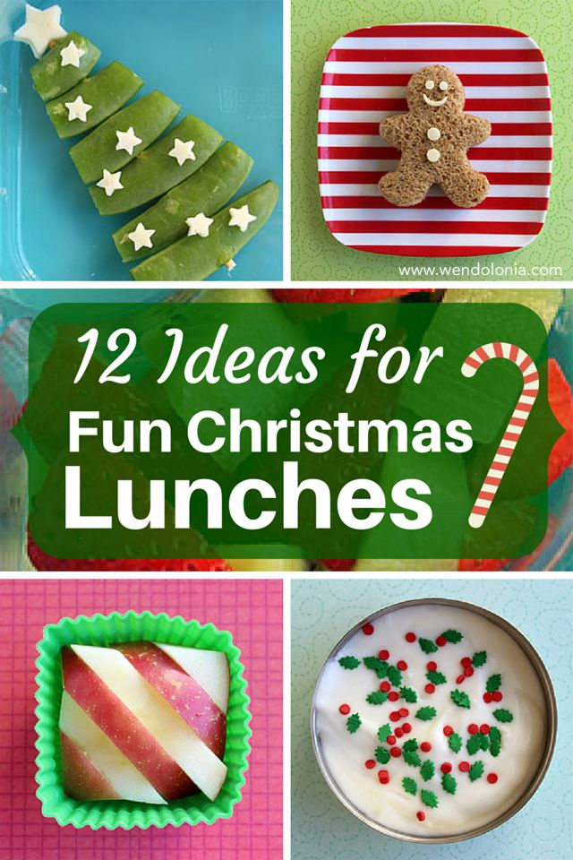 12 Ideas For Fun Christmas Lunches