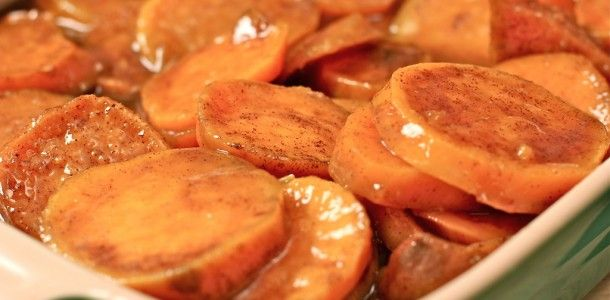 The BEST Baked Candied Yams!