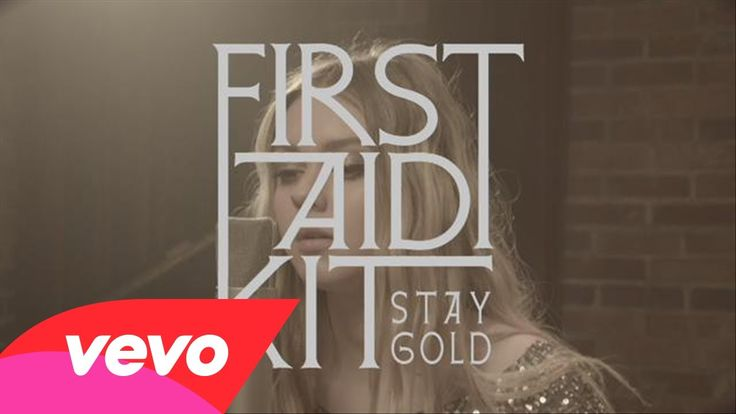 'Stay Gold', First Aid Kit ...a lovely lyrical response to the Robert Frost poem 'Nothing Gold Can Stay'~+