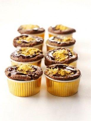 GLITZY CHOCOLATE PUDDINGS | Recipes | Nigella Lawson