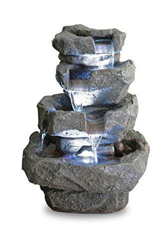 Fontaine d\'Intérieur Shubunkin à LED - Zen et Relaxation | Fontaine ...