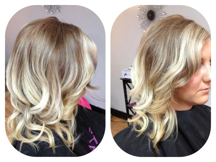 Blonde Ombre Hairstyles Colors: Dark Blonde W/white Blonde Ombré