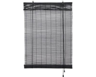 15,99 euro Leenbakker Rolgordijn bamboe 150*180cm zwart of wit Art. nr:44161005