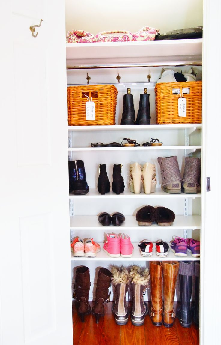 An Adjustable Shelf Closet System Like This One From Organized Living Can Turn Underutilized Into A Beautiful Shoe