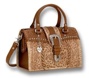 Click Image To Enlarge Two-Tone Coach Bag at the Southwest ...