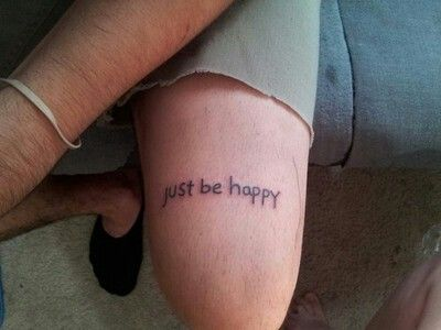 tattoo on my ankle maybe?