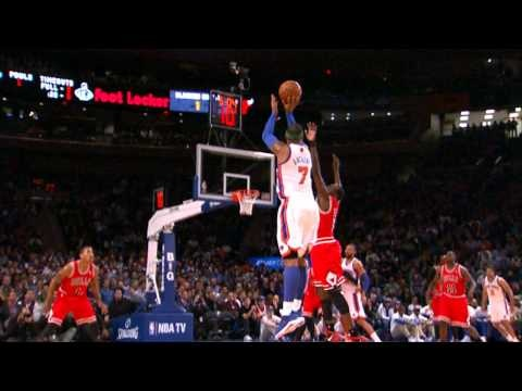 Player of the Night: Carmelo Anthony Beats the Bulls