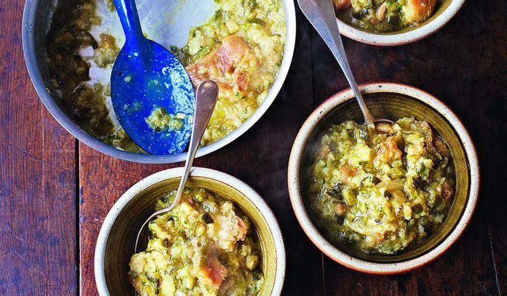 Pappa al zucchini (Courgette & bread soup)