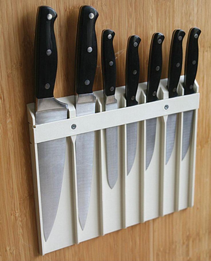 Kitchen Knife Storage Ideas Part - 35: Knife Storage Ideas For Elegant Kitchen Storage