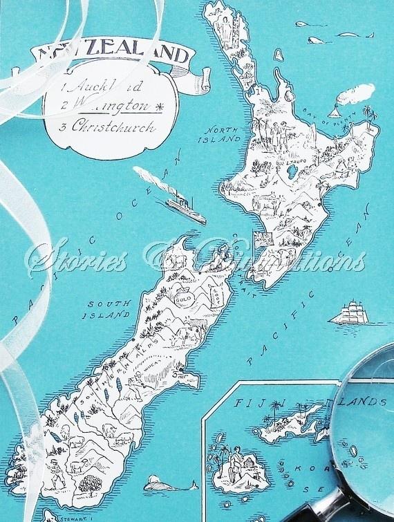 41 best New Zealand Map Art images on Pinterest  Map art Map of