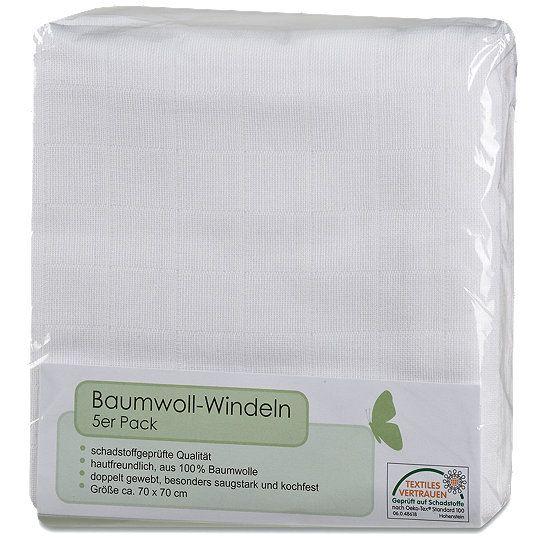 Baumwoll-Windeln, Stoffwindeln günstig kaufen bei dm.