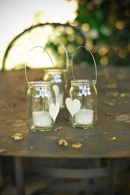 Simple candles.