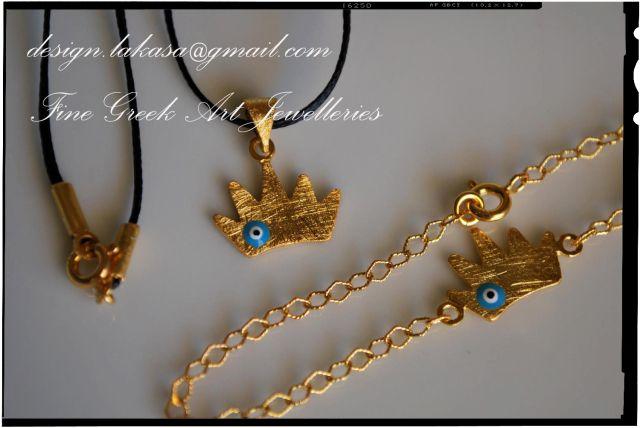 βραχιόλι_κορώνα_ασήμι_925_επιχρυσωμένο_sterling_silver_crown_jewelry_κολιέ_bracelet_necklace_δώρο_κόσμημα_lakasa_e-shop_jewelleries