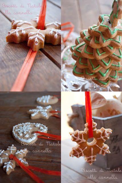 Mon petit bistrot: Biscotti di Natale alla cannella