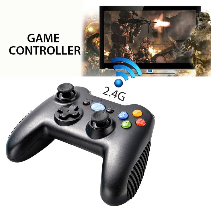 2.4G Wireless Game Controller Gamepad for Android TV Box/PC/PS3