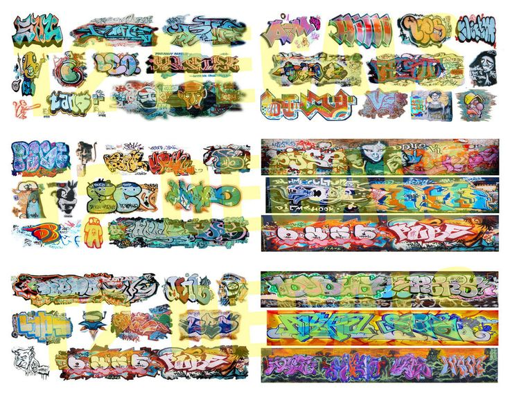Ho scale custom graffiti decals mega sheet 6
