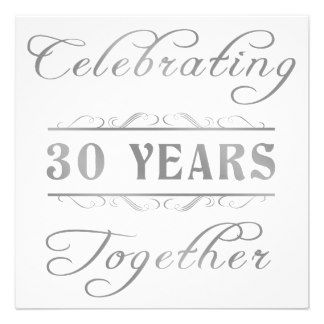 90 best 30 year wedding anniversary images on Pinterest