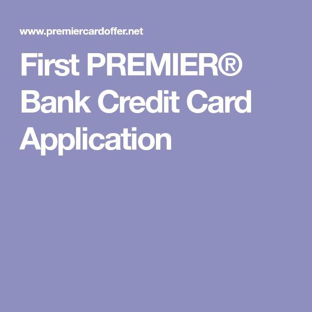 Best 25+ Premier bank credit card ideas on Pinterest Pay parking - business credit card agreement