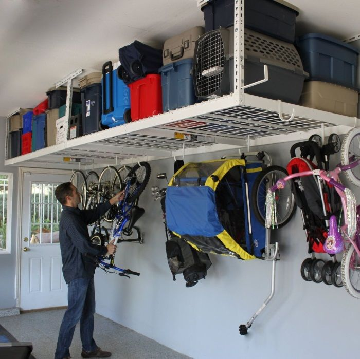 These garage organization tips will help you create space - by creating zones for your tools, auto and yard supplies you will find that an organized....