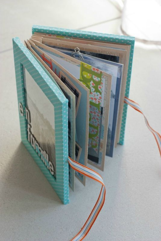 Bekannt 111 best IDEES SCRAP  images on Pinterest | Box, Mini albums  IF89