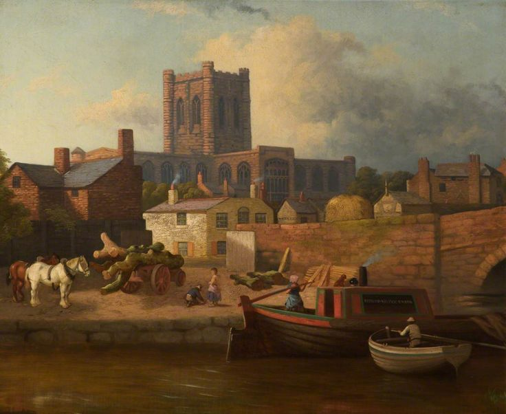 Chester Cathedral from Cow Lane Bridge