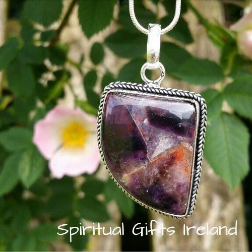 Visit our store at www.spiritualgiftsireland.com  Follow Spiritual Gifts Ireland on www.facebook.com/spiritualgiftsireland www.instagram.com/spiritualgiftsireland www.etsy.com/shop/spiritualgiftireland	 We are also featured on Tumbler  The number 7 is a magical number representing perfection. There are 7 colours of the rainbow, 7 gifts of the spirit, 7 chakras and 7 days of the week. 🌈Amethyst is a stone of spirituality and peace of mind, used in meditation to open channels between your…