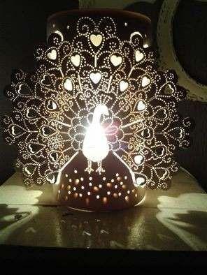 luminárias pvc personalizadas tipo árvore