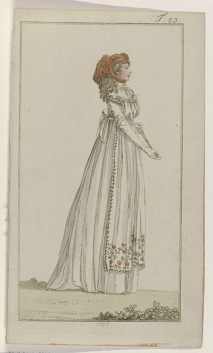 Journal des Luxus und der Moden, 1796, T 23, Georg Melchior Kraus, 1796
