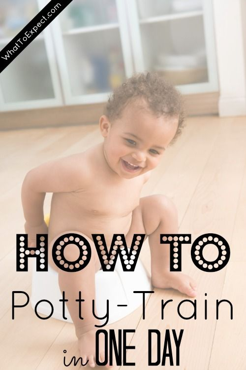 A one-day potty-training method perfect for older toddlers and preschoolers
