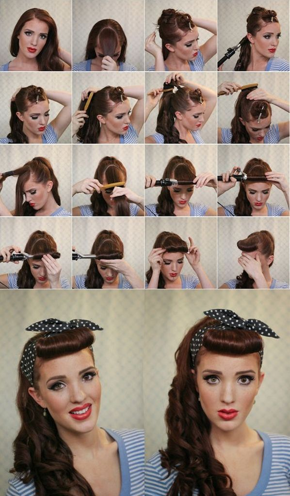 Ponytail with Featured Bangs