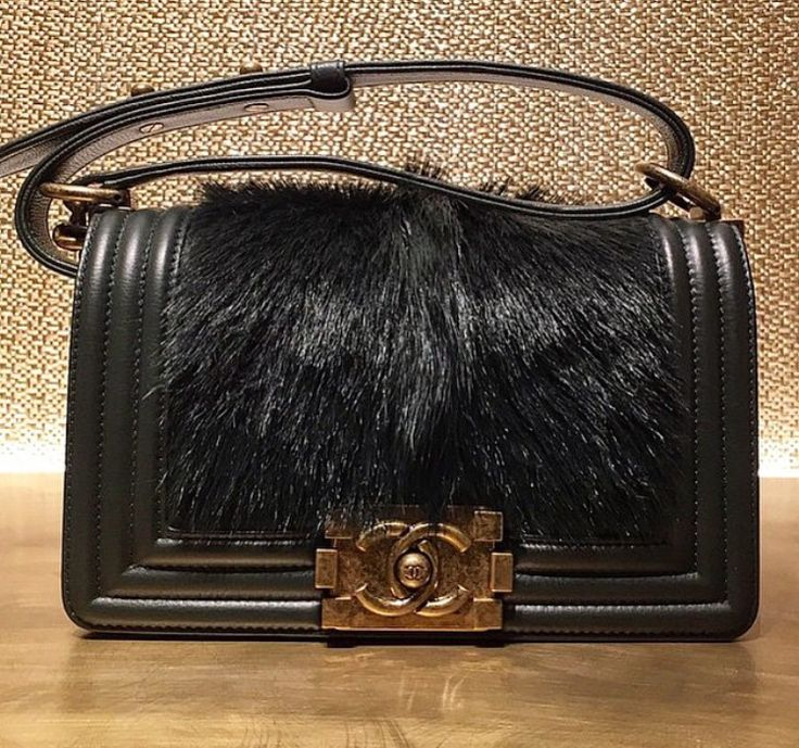 Fur Boy Bag #Chanel