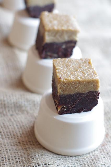 Flourless Mocha Brownies (raw, gluten free, sugar free, dairy free, egg free) / Glutenfria mocka brownies