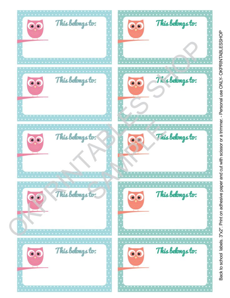 19 best Back to school images on Pinterest Back to school, First - free printable shipping labels