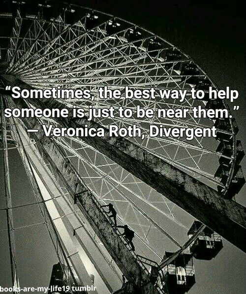 #BookQuotes - Divergent Series: Divergent #1 by Veronica Roth